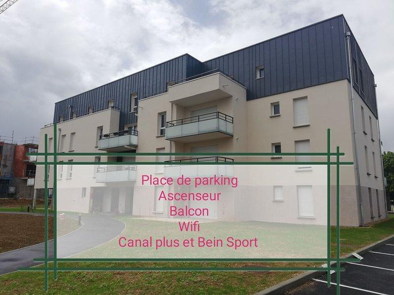Vous êtes chez vous !, vacation rental in Villemeux-sur-Eure