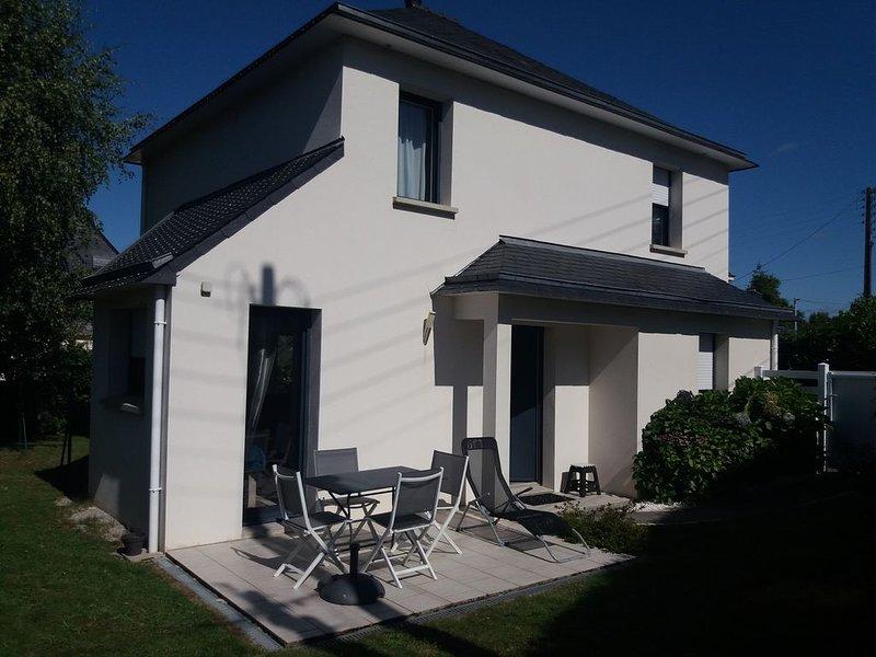 Le confort et le calme proche Vannes Et golfe du Morbihan, holiday rental in Meucon