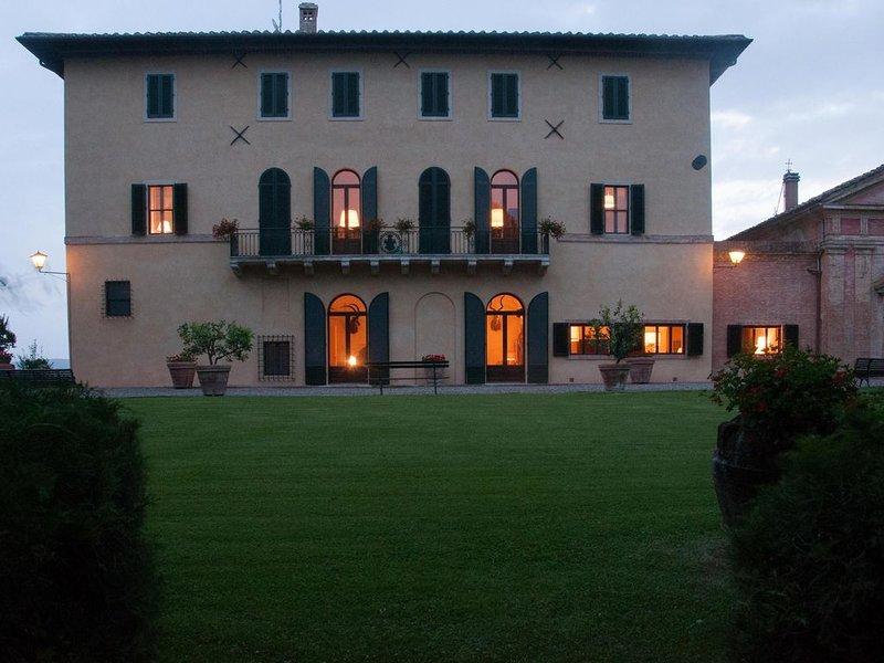 Villa Curiano - Siena, Ferienwohnung in Monteroni d'Arbia