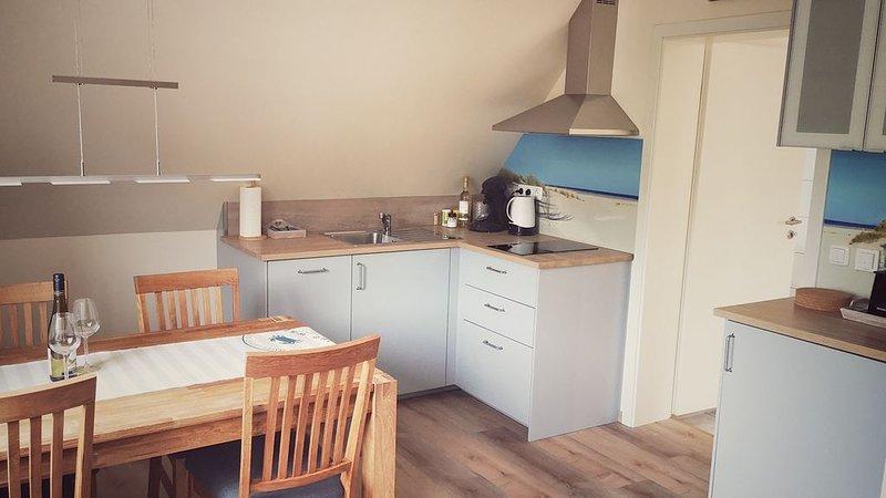 Ferienwohnungen Möwe - Wohnung Obergeschoss mit Seeblick, Ferienwohnung in Damme
