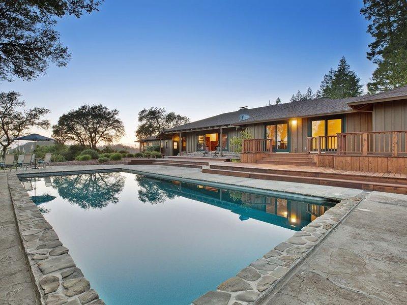 NEW - Calistoga Ridge Ranch, casa vacanza a Calistoga