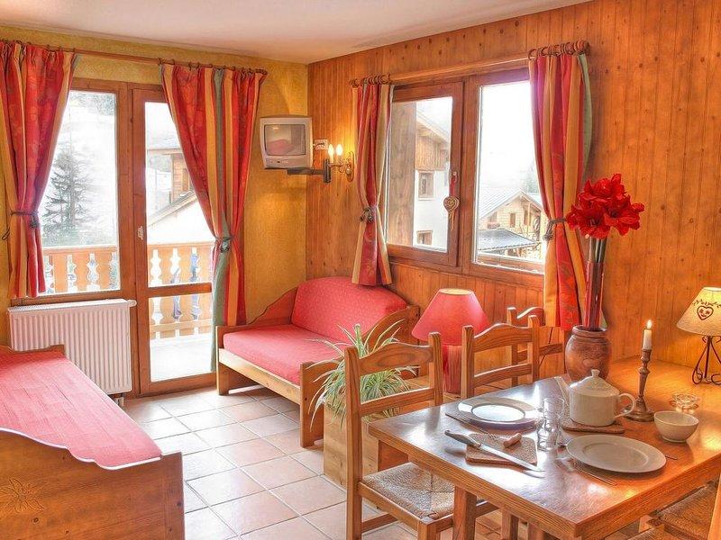 Wifi, à 200m des pistes de ski, remise en forme, balcon, parking, télévision, ca, vacation rental in Bessans