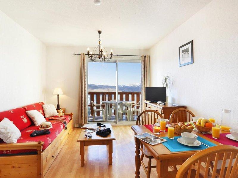 Wifi, remise en forme, piscine, terrasse, parking, télévision, casier à ski, 30m, holiday rental in Estavar