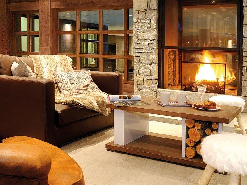 Wifi, remise en forme, piscine, terrasse, balcon, télévision, casier à ski, 27-3, location de vacances à Les Gets
