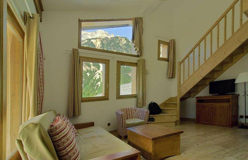 Wifi, pied des pistes de ski, balcon, télévision, 85-100m², Pralognan-la-Vanoise, location de vacances à Pralognan-la-Vanoise