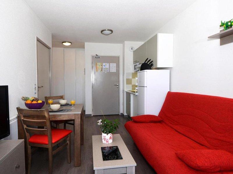 Wifi, à 20m des pistes de ski, remise en forme, piscine, terrasse, balcon, parki, holiday rental in Les Angles