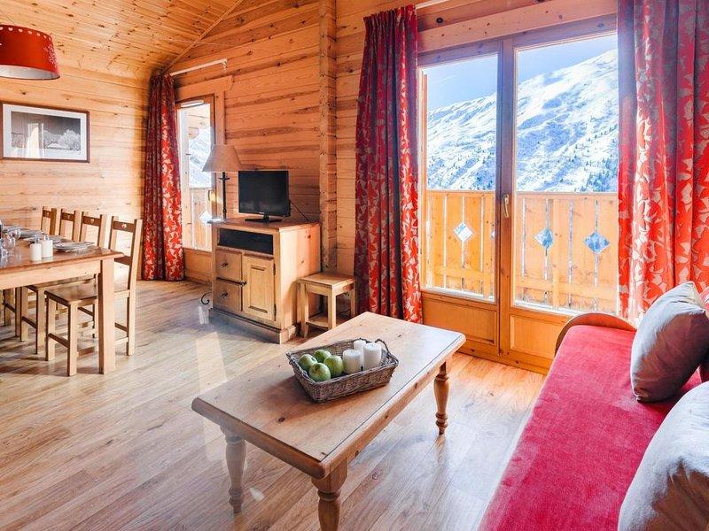 Chalet, wifi, pied des pistes de ski, remise en forme, piscine, balcon, télévisi, holiday rental in Saint Michel de Maurienne
