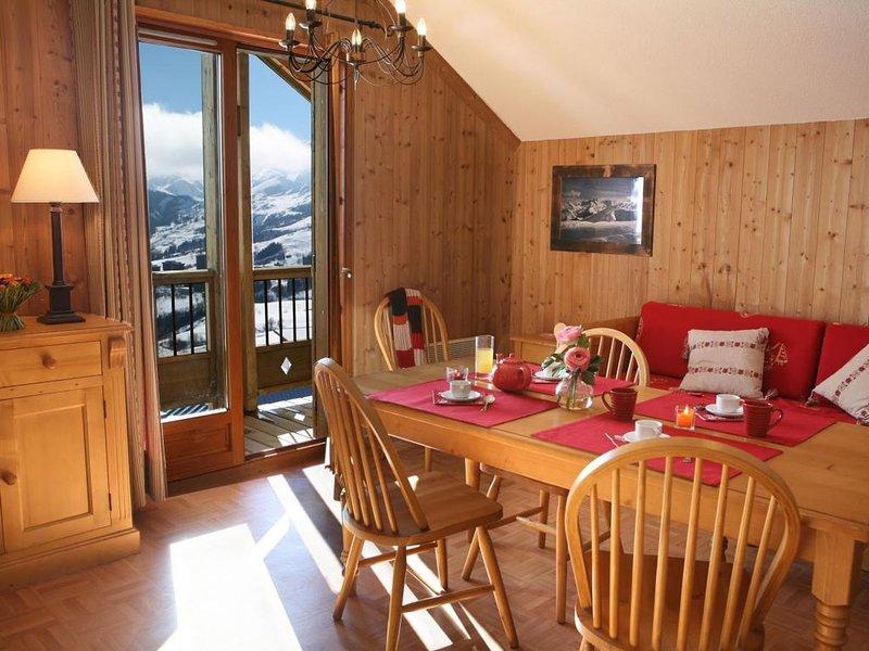 Wifi, remise en forme, piscine, parking, télévision, casier à ski, 38m², La Tous, holiday rental in Saint-Jean-de-Maurienne