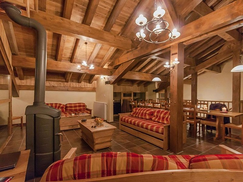 Wifi, pied des pistes de ski, remise en forme, balcon, parking, télévision, casi, alquiler de vacaciones en La Rosiere