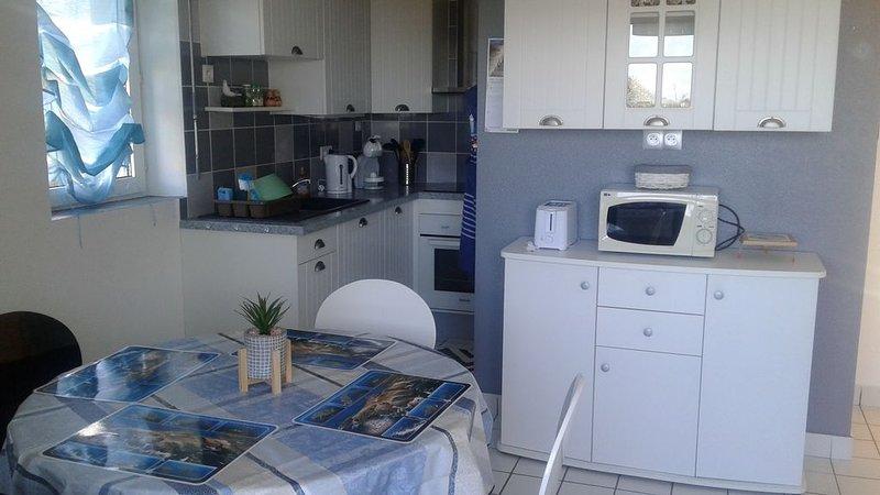 Belle appartement nouvellement aménagé, alquiler de vacaciones en Guidel