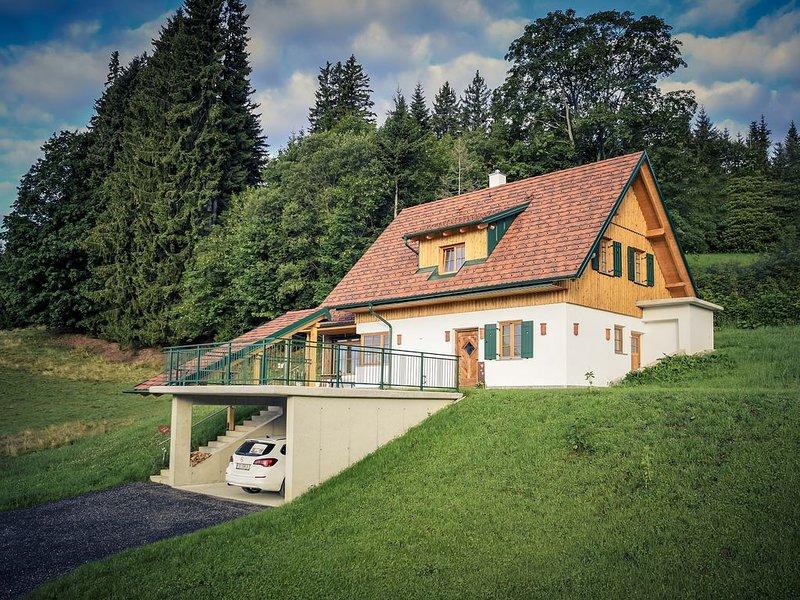 Wellness Ferienhaus in Glashütten, vacation rental in Oberhaag