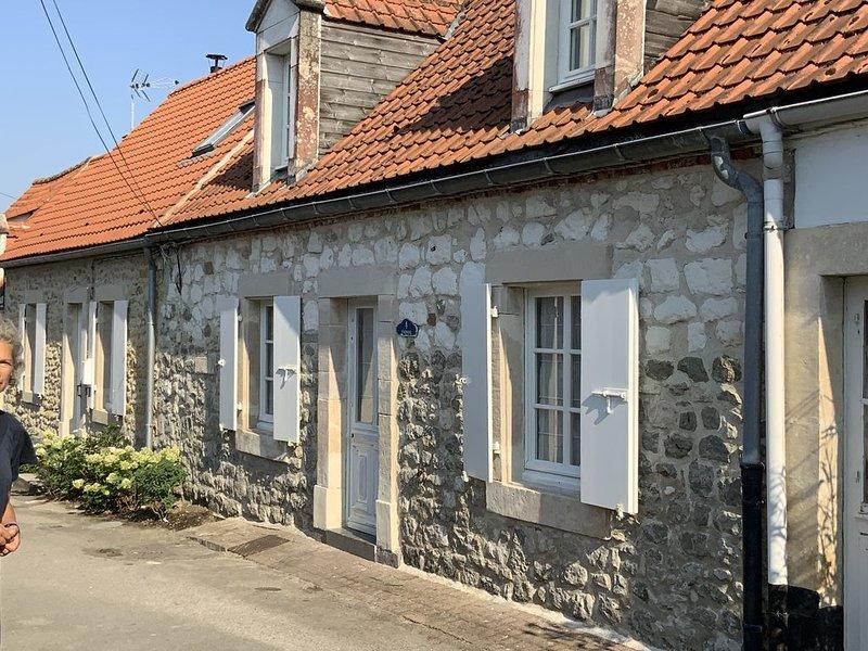Maison de pêcheurs au coeur du village de wissant, vacation rental in Bleriot-Plage