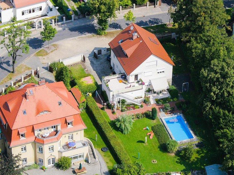 Ferienwohnung in idyllischer Villengegend von Görlitz, location de vacances à Gorlitz