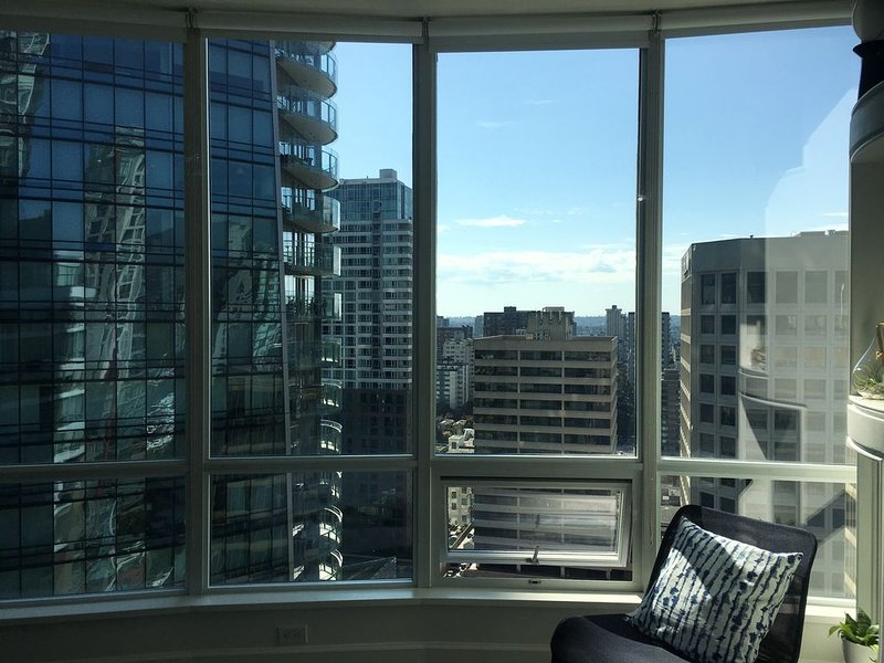 Penthouse Private Room 3006 Downtown Vancouver, vakantiewoning in Vancouver
