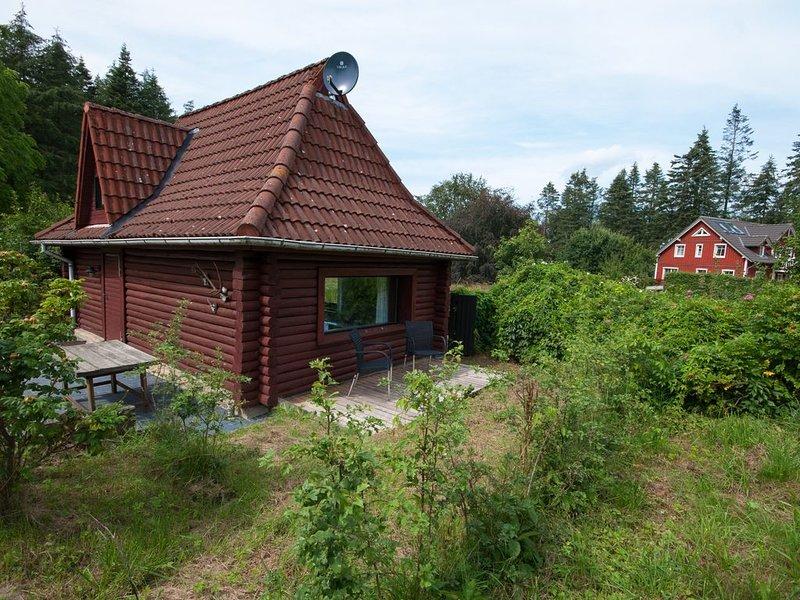 Kleines Blockhaus in traumhafter Lage, aluguéis de temporada em Hanerau-Hademarschen