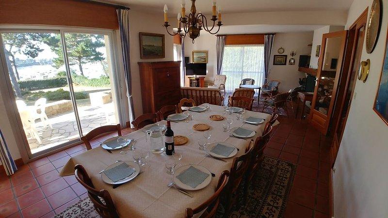 Saint Briac, villa vue mer, accès direct plage, exposition sud, 10 personnes, alquiler de vacaciones en Saint-Briac-sur-Mer