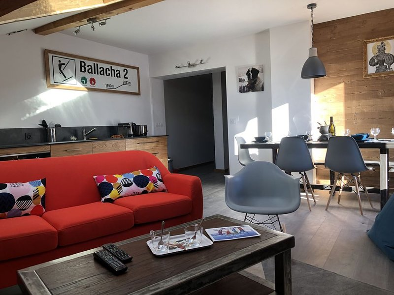 Charmant appartement spacieux 3 ch,duplex, consigne skis., holiday rental in Scionzier