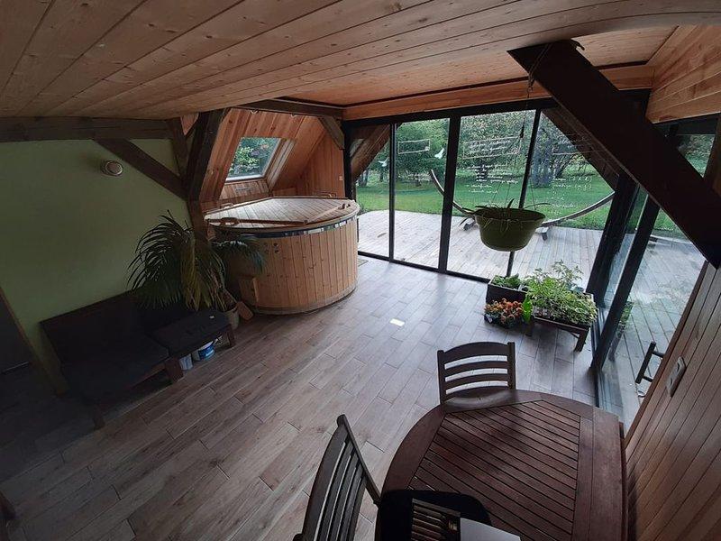 Chalet & spa en forêt, holiday rental in Oberhaslach