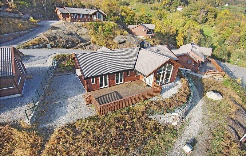 5 Zimmer Unterkunft in Nedstrand, holiday rental in Rogaland