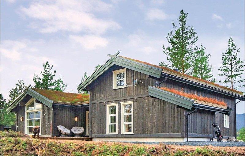 3 Zimmer Unterkunft in Vrådal, vacation rental in Telemark