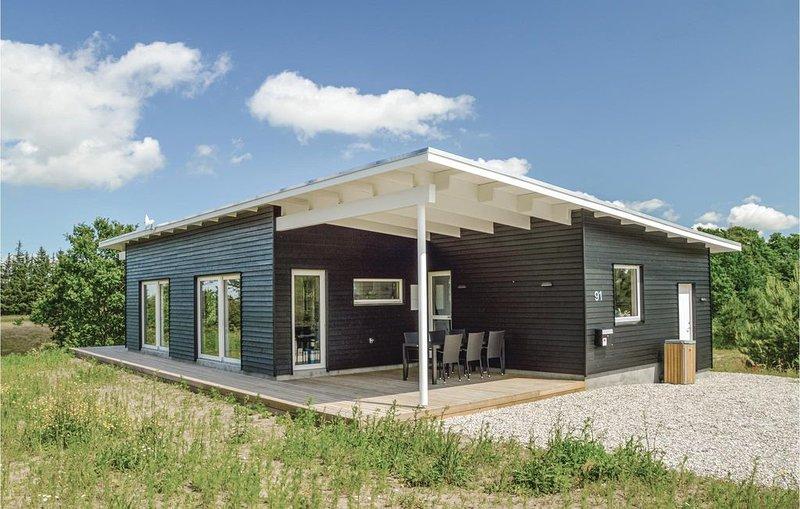 3 Zimmer Unterkunft in Skals, aluguéis de temporada em Hoejslev