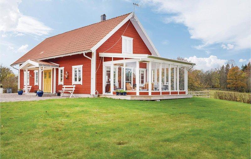 3 Zimmer Unterkunft in Mariannelund, vacation rental in Ingatorp