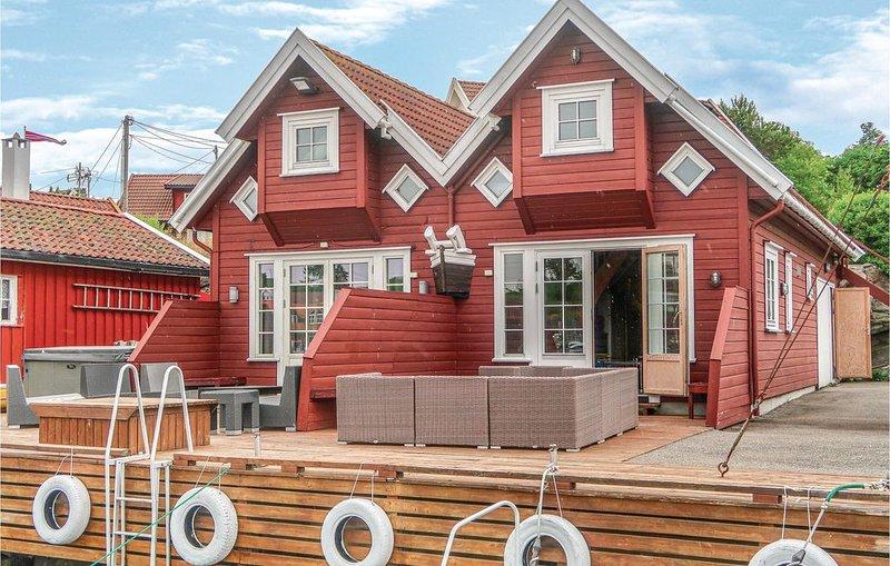 3 Zimmer Unterkunft in Søgne, holiday rental in Kristiansand