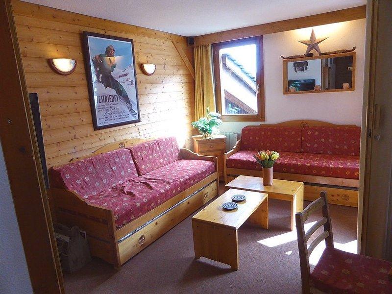Valmorel, hameau de la Forêt, grand appartement disposant de 3 chambres, vacation rental in Celliers