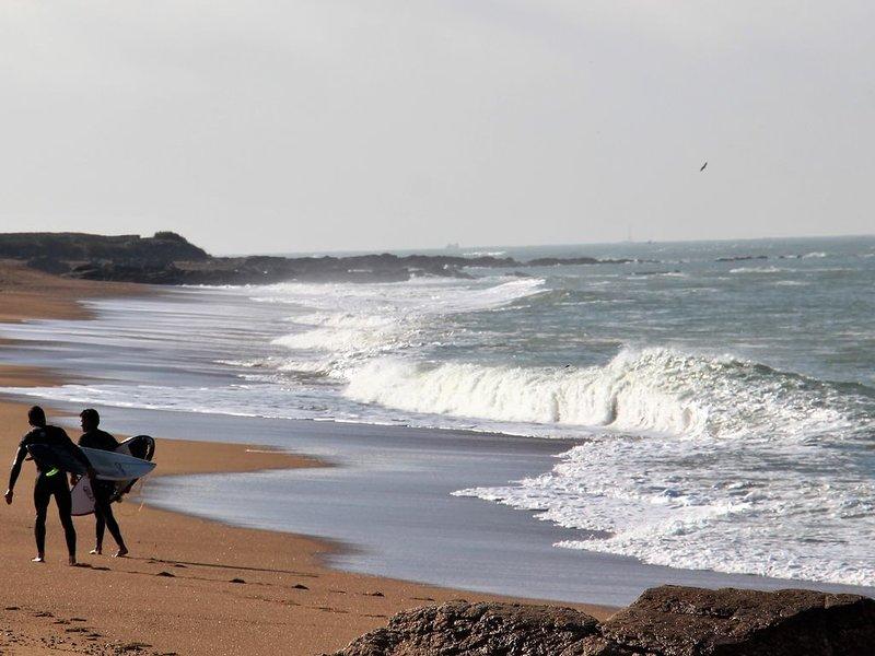 The wild beach of La Paracou