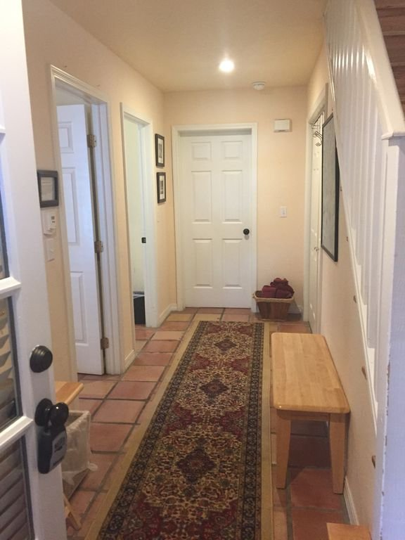 Entry Hall; 2 private BR, shared Bath