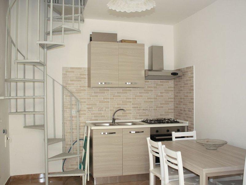 Tranquillo appartamento immerso nel verde, vakantiewoning in Varcaturo