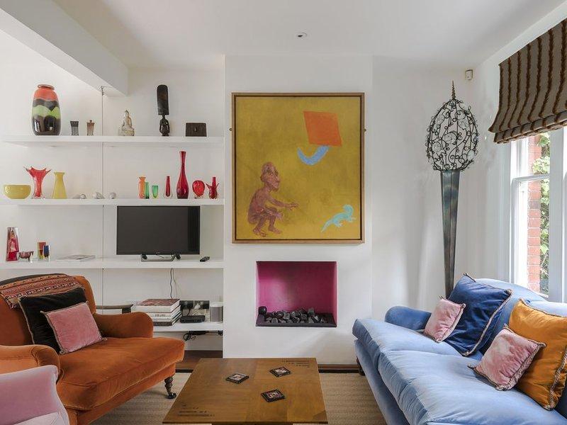 Notting Hill Portobello Staycation WFH Fast Wifi Office, aluguéis de temporada em Willesden