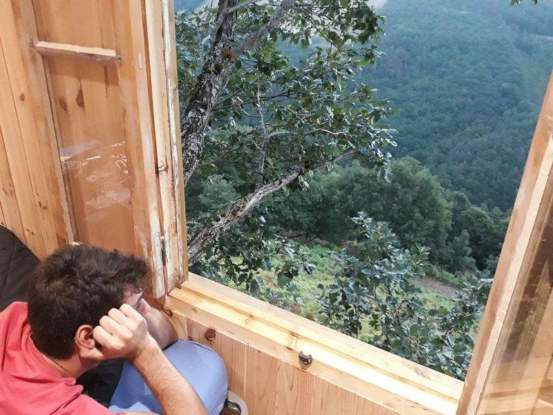 Cabane dans les arbres, holiday rental in Aumont Aubrac