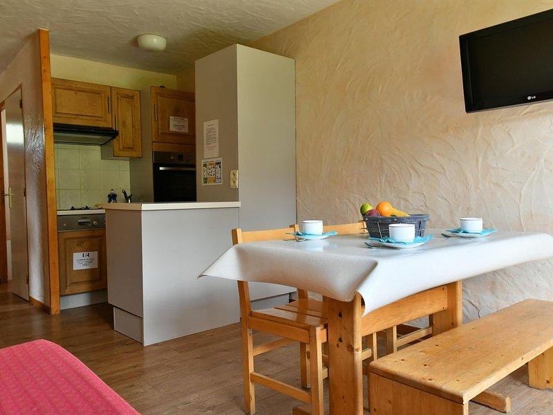 Grand Cap 3 - Appt 4 pers dans Chalet - CALME & NATURE, holiday rental in Tignes