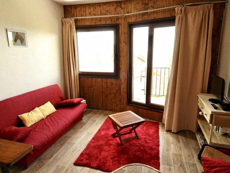 Grand studio pour 4 personnes, vacation rental in Avoriaz