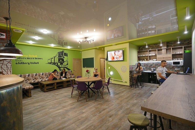 Hostel Station лучший вариант для групп и для индивидуальных путешественников, location de vacances à Oblast de Kharkiv