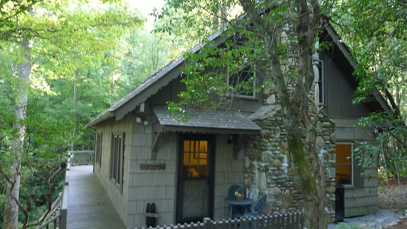 Charming Mountain Cottage - Connestee Falls, holiday rental in Rosman