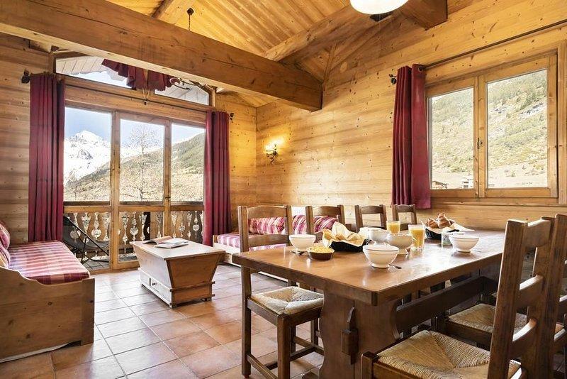 Résidence Les Balcons de Val Cenis Village**** - 7 Pièces 12/14 Personnes, vacation rental in Val-Cenis