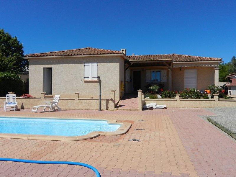maison de vacances confortable proche des plages, location de vacances à Lespignan