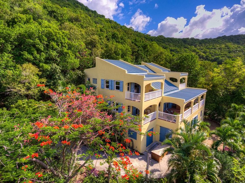 Surrounded by acres of privately held land offering intimate privacy