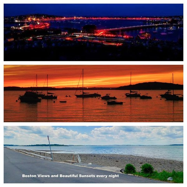 Sunsets on the Bay (Panoramic) NOV,DEC SPECIALS! Savings listed on Vrbo Calendar, vacation rental in Hull