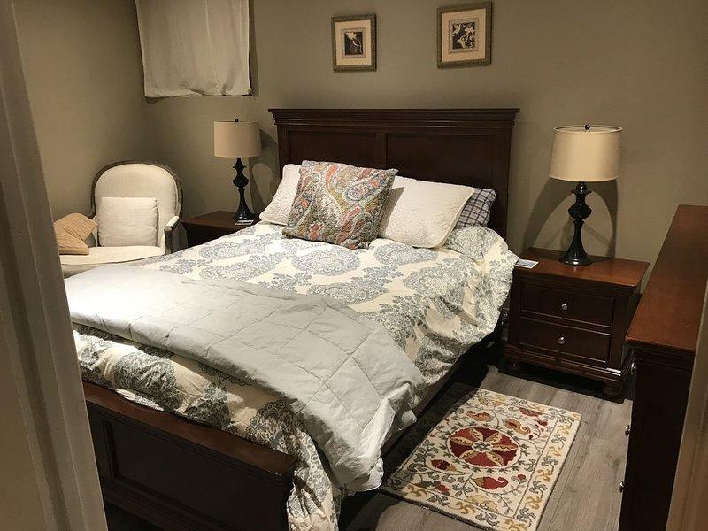 Camera da letto principale con letto matrimoniale