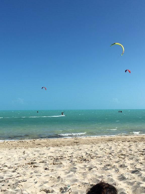 Kite Boarding en Long Bay