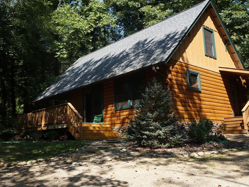 The Cozy Cabin In Black Mountain, alquiler vacacional en Black Mountain
