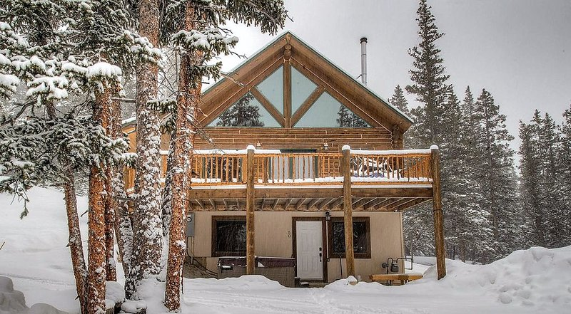 Amazing 2400 Sq Ft Log Cabin on 8 Acres - Hot Tub - Ski Breckenridge, holiday rental in Fairplay