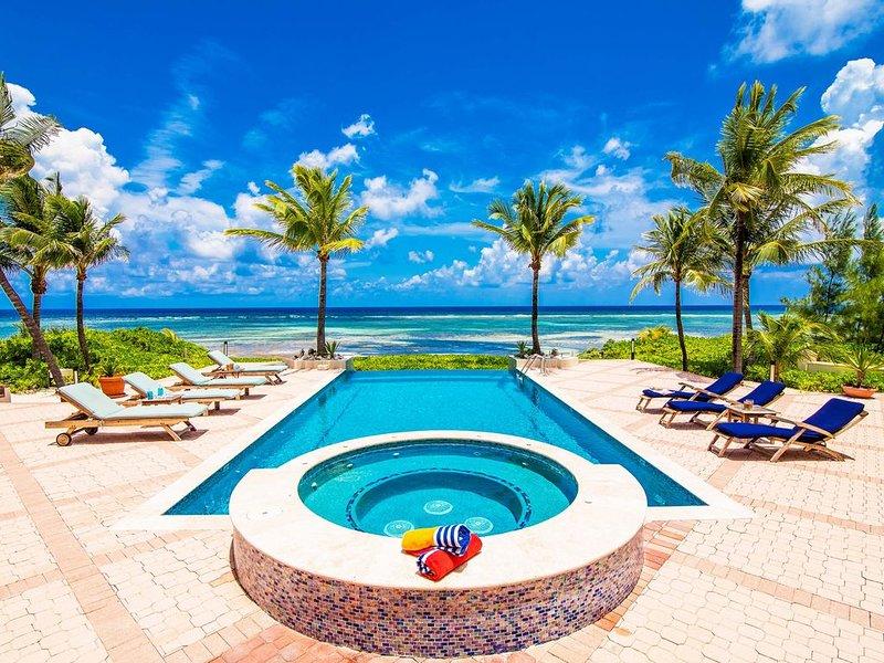 4BR-Villa Zara: Oceanfront Luxury Villa, vacation rental in Grand Cayman