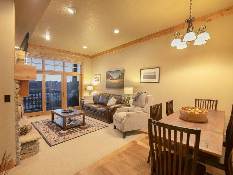 Luxury 2 Bedroom Palisades Condo at Teton Springs, aluguéis de temporada em Victor