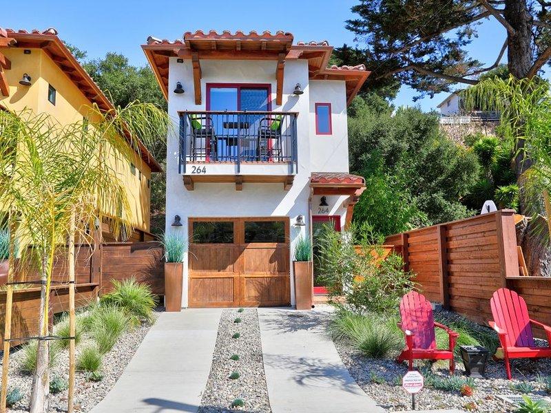 Avila Beach Spanish Bungalow *NEW home CONSTRUCTION* 5 min to beach & downtow, holiday rental in Avila Beach