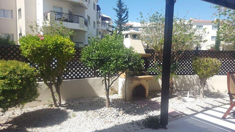 Jardin terrasse / barbecue