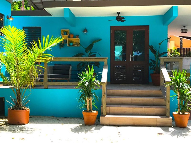 Cocoloba #2 is our 2 bedroom Casita, with a spacious balcony to enjoy the sunset